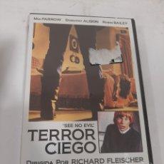 Cine: REF. 13546 TERROR CIEGO -DVD NUEVO PRECINTADO. Lote 269213738