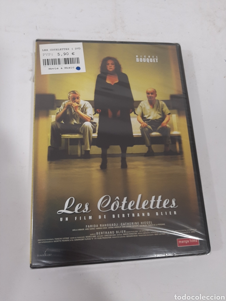 REF. 13552 LES COTTELETES -DVD NUEVO PRECINTADO (Cine - Películas - DVD)