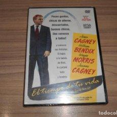 Cine: EL TIEMPO DE TU VIDA DVD JAMES CAGNEY NUEVA PRECINTADA. Lote 269215113