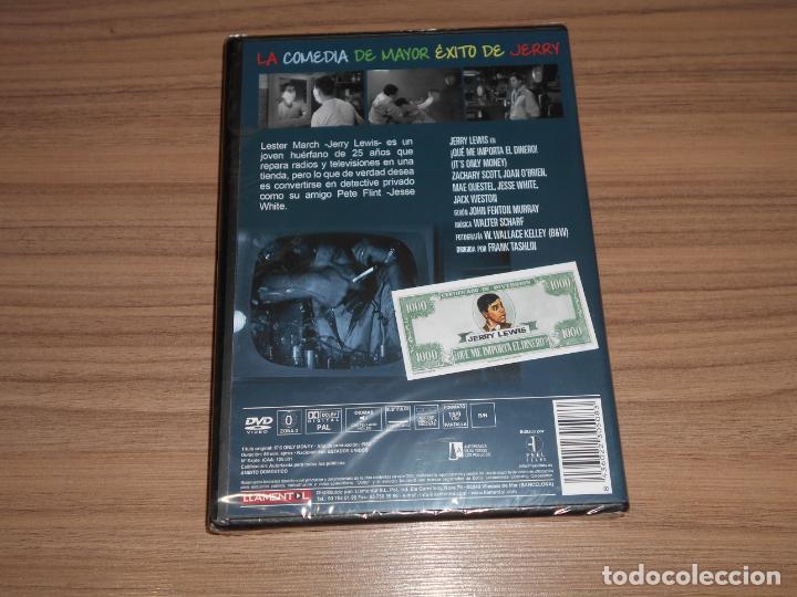 Cine: QUE IMPORTA el DINERO DVD Jerry Lewis NUEVA PRECINTADA - Foto 2 - 269215148