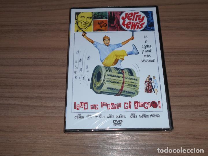 QUE IMPORTA EL DINERO DVD JERRY LEWIS NUEVA PRECINTADA (Cine - Películas - DVD)