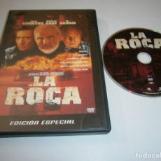 Cine: LA ROCA DVD EDICION ESPECIAL SEAN CONNERY NICOLAS CAGE ED HARRIS. Lote 269215273