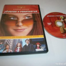 Cine: JOVENES Y PERIODISTAS DVD LINDSAY ZOHAN. Lote 269215583