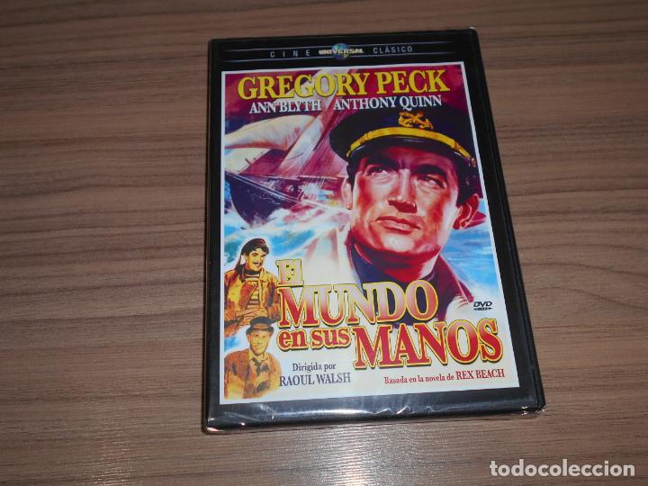 EL MUNDO EN SUS MANOS DVD DE RAOUL WALSH GREGORY PECK ANTHONY QUINN NUEVA PRECINTADA (Cine - Películas - DVD)