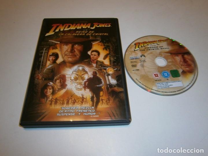 INDIANA JONES Y EL REINO DE LA CALAVERA DE CRISTAL DVD HARRISON FORD (Cine - Películas - DVD)