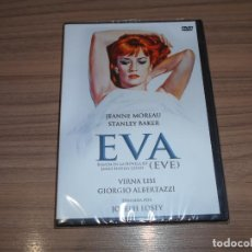 Cine: EVA (EVE) DVD STANLEY BAKER JEANNE MOREAU VIRNA LISI NUEVA PREICNTADA. Lote 269217358