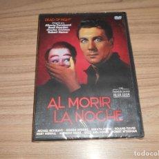 Cine: AL MORIR LA NOCHE DVD MICHAEL REDGRAVE NUEVA PRECINTADA. Lote 269217438