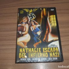 Cine: NATHALIE ESCAPA DEL INFIERNO NAZI DVD PATRIZIA GORI JACQUELINE LAURENT JACK TAYLOR NUEVA PRECINTADA. Lote 269217478