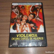 Cine: VIOLENCIA EN UNA CARCEL DE MUJERES DVD LAURE GEMSER NUEVA PRECINTADA. Lote 295864893