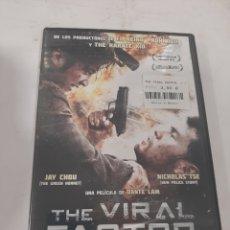 Cine: REF. 13.600 THE VIRAL FACTOR -DVD NUEVO PRECINTADO. Lote 269229808