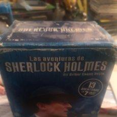 Cine: LAS AVENTURAS DE SHERLOCK HOLMES - 13 AVENTURAS EN 7 DVD'S.. 6. Lote 269230003