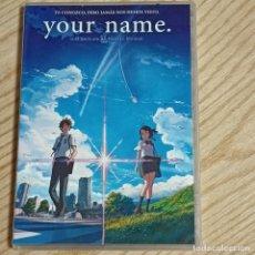 Cinema: DVD YOUR NAME MOVIE INCLUYE POSTAL. Lote 269316838