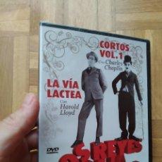 Cine: PELICULA DVD LOS REYES DE LA COMEDIA VOL. 1. CHARLES CHAPLIN HAROLD LLOYD. PRECINTADA. Lote 269375848