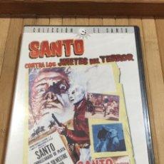 Cinéma: SANTO CONTRA LOS JINETES DEL TERROR DVD - PRECINTADO -. Lote 269380938