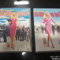 Cine: 2 DVDS. UNA RUBIA MUY LEGAL 1 Y 2.. Lote 269450523