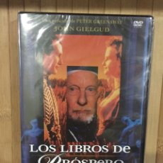 Cinéma: LOS LIBROS DE PRÓSPERO DVD - PRECINTADO -. Lote 269480933