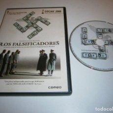Cine: LOS FALSIFICADORES DVD. Lote 288413408