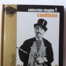 Cine: CANDILEJAS - CHARLES CHAPLIN - DVD LIBRO. Lote 269747343