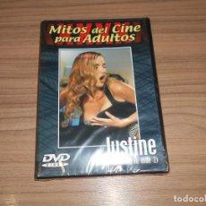 Cine: JUSTINE DVD MITOS DEL CINE PARA ADULTOS NUEVA PRECINTADA. Lote 269754388