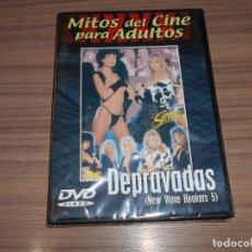 Cine: DEPRAVADAS DVD MITOS DEL CINE PARA ADULTOS NUEVA PRECINTADA. Lote 269754398
