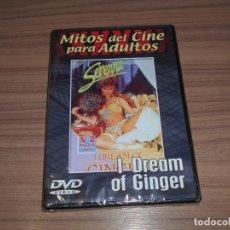 Cine: I DREAM OF GINGER DVD MITOS DEL CINE PARA ADULTOS NUEVA PRECINTADA. Lote 269754413