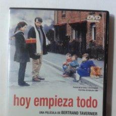 Cine: HOY EMPIEZA TODO - BERTRAND TAVERNIER DVD. Lote 269973938