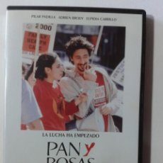 Cine: PAN Y ROSAS - ADRIEN BRODY - DVD. Lote 269974198