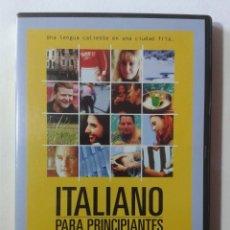Cine: ITALIANO PARA PRINCIPIANTES - DVD. Lote 269974523