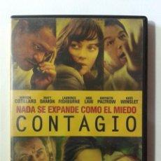 Cine: CONTAGIO- MATT DAMON- JUDE LAW- DVD. Lote 269975468