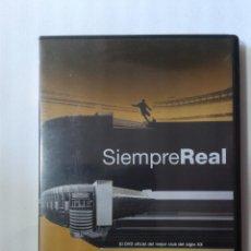 Cine: SIEMPRE REAL - 2 DVD. Lote 269976563