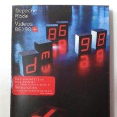 Cine: DEPECHE MODE - VIDEOS 86 - 98 - EDICION DE LUJO - 2 DVD. Lote 269977093