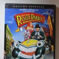 Cinema: ¿QUIÉN ENGAÑÓ A ROGER RABBIT? DVD EDICIÓN ESPECIAL 1 DISCO. Lote 266384783