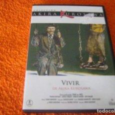 Cine: VIVIR / AKIRA KUROSAWA. Lote 270363903