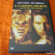 Cine: A LA MAÑANA SIGUIENTE / JANE FONDA DESCATALOGADA. Lote 270364933