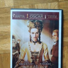 Cine: PELICULA DVD LA DUQUESA KEIRA KNIGHTLEY RALPH FIENNES GANADORA DEL OSCAR. Lote 270368208