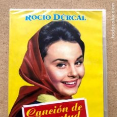 Cine: CANCIÓN DE JUVENTUD / ROCÍO DURCAL / LUIS LUCIA / DIVISA / DVD /. Lote 270375288