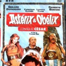 Cine: DVD ASTERIX Y OBELIX CONTRA EL CESAR DEPARDIEU BENIGNI. Lote 270497803