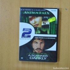 Cine: ANIMATRIX / A SCANNER DARKLY - DVD. Lote 270559318