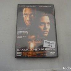 Cine: (14-B1) 1 X DVD - EL COLECCIONISTA DE HUESOS - DENZEL WASHINGTON, ANGELINA JOLIE. Lote 270564748
