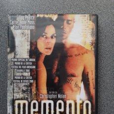 Cine: MEMENTO - CHRISTOPHER NOLAN, GUY PEARCE, CARRIE-ANNE MOSS, JOE PANTOLIANO. Lote 270565518