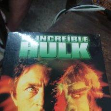 Cine: EL INCREIBLE HULK LA SEGUNDA TEMPORADA - KENNETH JOHNSON - LOU FERRIGNO , BILL BIXBY - UNIVERSAL. Lote 270572503
