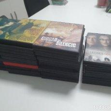 Cinema: LOTE DE 44 CAJAS VACIAS PARA DVD - 28 NORMALES + 2 DOBLES + 14 FINAS/SLIM. Lote 270602453