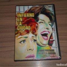 Cine: INFIERNO EN LA CIUDAD DVD ANNA MAGNANI NUEVA PRECINTADA. Lote 293754603