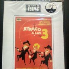 Cine: DVD ATRACO A LAS 3 - JOSÉ MARÍA FORQUÉ - UN PAÍS DE CINE - EL PAÍS 2003 PRECINTADO. Lote 270890333