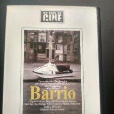 Cine: BARRIO - FERNANDO LEON DE ARANOA - DVD 2003 - UN PAIS DE CINE PEPETO. Lote 270890718