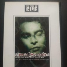 Cine: ABRE LOS OJOS DVD 2003 EL PAIS ALEJANDRO AMENABAR EDUARDO NORIEGA PENELPE CRUZ PEPETO. Lote 270891958