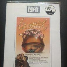 Cine: LA MIEL. DVD. EL PAIS DE CINE . PEDRO MASÓ. JANE BIRKIN Y JOSÉ LUIS LÓPEZ PRECINTADO PEPETO. Lote 270892308
