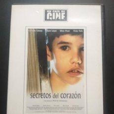 Cine: SECRETOS DEL CORAZON. DVD EL PAIS MONTXO ARMENDARIZ. CON ANDONI ERBURU, ALVARO NAGORE PEPETO. Lote 270892818