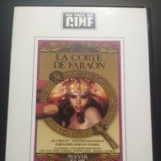 Cine: DVD LA CORTE DE FARAON - ANA BELEN - ANTONIO BANDERAS - EL PAIS PEPETO. Lote 270893108
