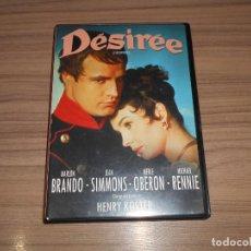 Cinema: DESIREE DVD + LIBRETO JEAN SIMMONS MARLON BRANDO. Lote 271053543